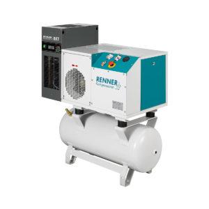 RSDK - mit Kältetrockner und Behälter