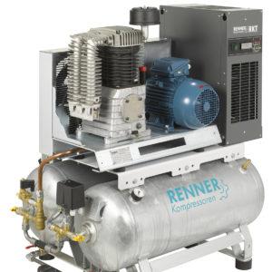 Stationäre Kolbenkompressoren mit Kältetrockner